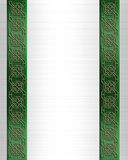St Pattys Day Border Celtic Knot  Royalty Free Stock Photo