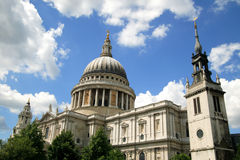 St.Paul's Cathedral Stock Images