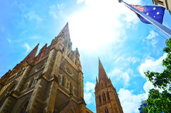 St Paul's Cathedral in Melbourne, Australia. Royalty Free Stock Photos