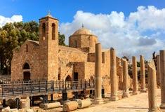 St. Paul's Catholic Church in Paphos, Cyprus. Stock Image