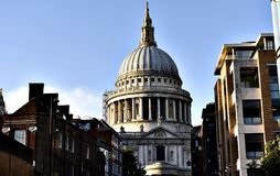 St. Paul's Church London royalty free stock photos