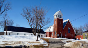 ST Paul Αγγλικανική Εκκλησία Στοκ Εικόνες