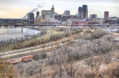 St Paul столица Минесоты стоковая фотография