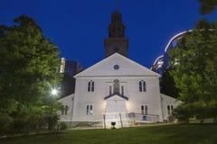 St Paul Anglican Church a Halifax fotografie stock