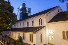 St Paul Anglican Church a Halifax fotografia stock libera da diritti