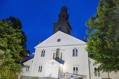St Paul Anglican Church a Halifax fotografia stock