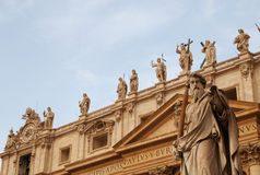 St Paul and the Apostles, Vatican, Rome, Italy Royalty Free Stock Photography