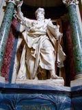 St Paul, ArchBasilica de St John Lateran, Rome, Italie Photos libres de droits