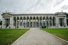 St Paul aus den Wänden Rom heraus Stockfotografie