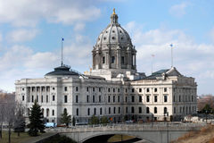 St. Paul Capitol Royalty Free Stock Image