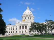 St Paul Capitol, Minnesota stock photos