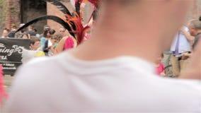 St Paul Carnival, dancing stock video