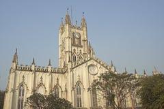 St Paul Cathadral, Kolkata Stock Afbeeldingen