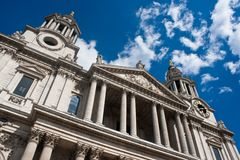 St paul cathedral Royalty Free Stock Image