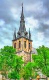 St Paul Cathedral en Lieja, Bélgica fotografía de archivo