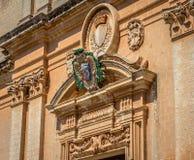St. Paul Cathedral Facade Shield Lizenzfreies Stockbild