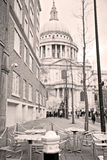 St paul cathedral in l   ondon england old construction and religio Stock Photography