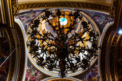 St Paul Cathedral Lamp Stock Images
