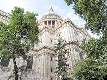 St Paul Cathedral, Londen stock foto