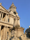St Paul Cathedral in London. Famous tourist attraction in London stock photos