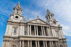 St Paul Cathedral in London Stock Photography
