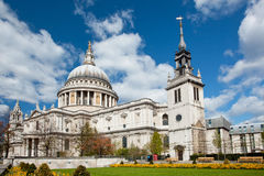 St. Paul Cathedral London royalty free stock photos