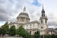 St Paul Cathedral in London Royalty Free Stock Photo