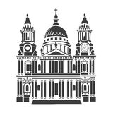 St Paul Cathedral in London Royalty Free Stock Photos