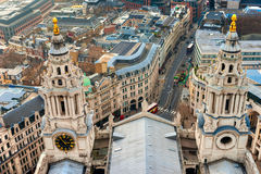 St Paul Cathedral, London. Royalty Free Stock Photo