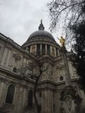 St.Paul Cathedral in London royalty free stock photography