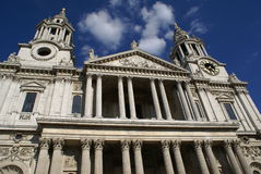 St Paul Cathedral, London, England Arkivfoton