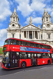 St. Paul Cathedral in London Stock Photography