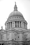 St paul cathedral in london england old construction and religio Royalty Free Stock Image