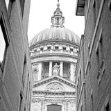 St paul cathedral in london england old construction and religio Stock Images