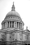 St paul cathedral in london england old construction and religio Stock Photo