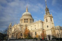 St. Paul Cathedral in London England United Kingdom.