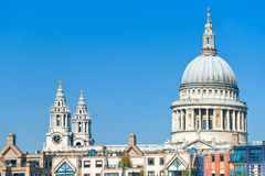St Paul Cathedral, London, UK. Stock Photography