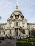 St. Paul cathedral, London Royalty Free Stock Photo