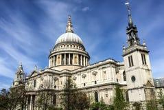 St Paul Cathedral, London, UK Fotografering för Bildbyråer