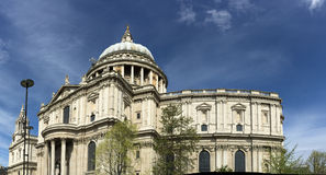 St. Paul cathedral, London, UK Royalty Free Stock Photos