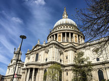 St. Paul cathedral, London, UK Royalty Free Stock Photo