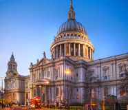 St. Paul cathedral, London Stock Photos