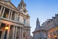 St. Paul cathedral, London Royalty Free Stock Image