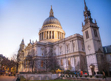 St. Paul cathedral, London Royalty Free Stock Photos