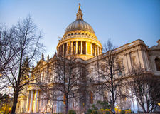 St. Paul cathedral, London Stock Photography