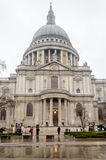 St Paul Cathedral, London, UK. March 2013 stock image