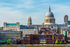 St Paul Cathedral, London, UK. Royalty Free Stock Photos