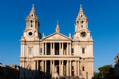 St Paul Cathedral in London Stock Image