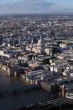 St Paul Cathedral a Londra Fotografia Stock Libera da Diritti