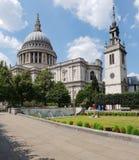 St Paul ' cattedrale di s, Londra, Inghilterra Immagine Stock Libera da Diritti